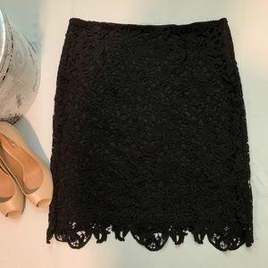 LAST CALL: Calvin Klein Lace Skirt